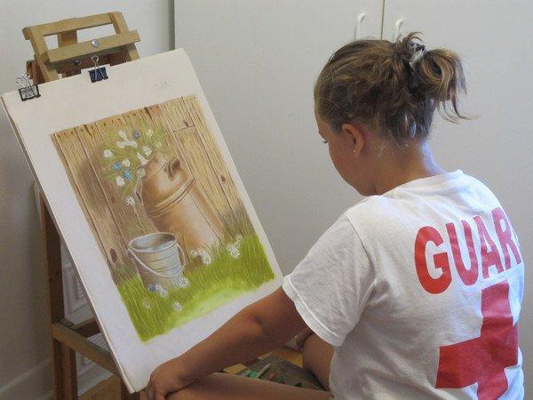 Cours de dessin et de peinture pour jeunes et adolescents